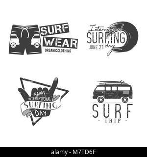 Vintage Surfing Grafiken und Poster für das Web entwerfen