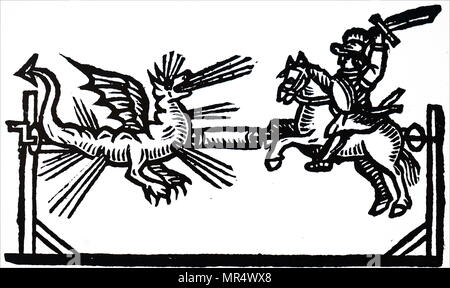 St. George und der Drache-Abbildung aus dem Buch