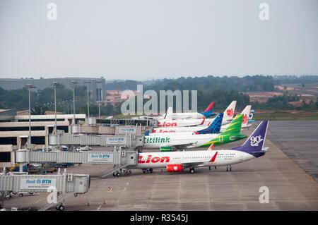 Die Klemme des Hang Nadim Airport. Batam Stockfoto. Bild: 225691765 - Alamy