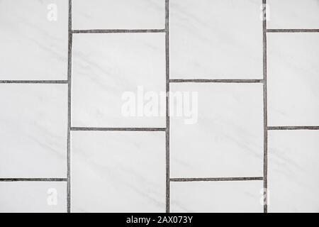 le carrelage blanc avec joint photo