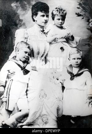 édouard Viii Frères Et Sœurs : édouard, frères, sœurs, Portrait, Enfants, Photo, Stock, Alamy