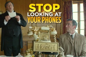 Hände weg vom Telefon!