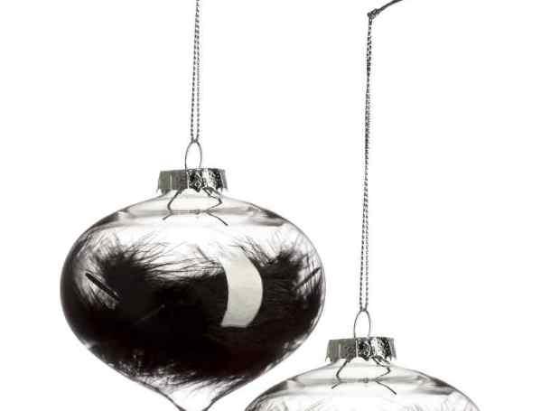 Lot de 2 boules de Noël 9,99 €