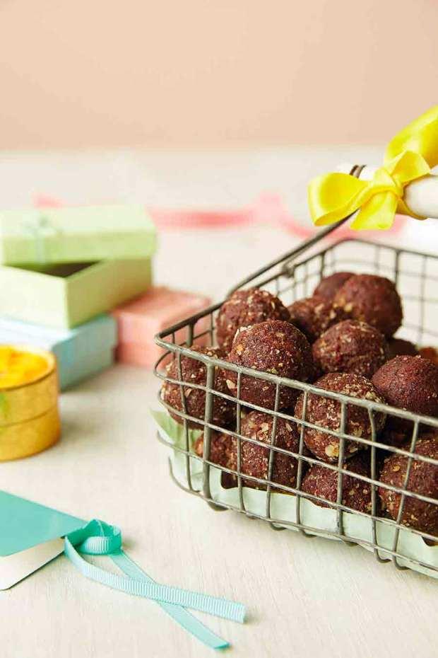 Bouchées aux noisettes et au chocolat