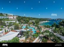 Swimming Pool Croatia Dalmatia Stock &
