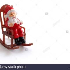 Rocking Chair Christmas Covers Graco Swing Uk Kitsch Holiday Stock Photos And Images
