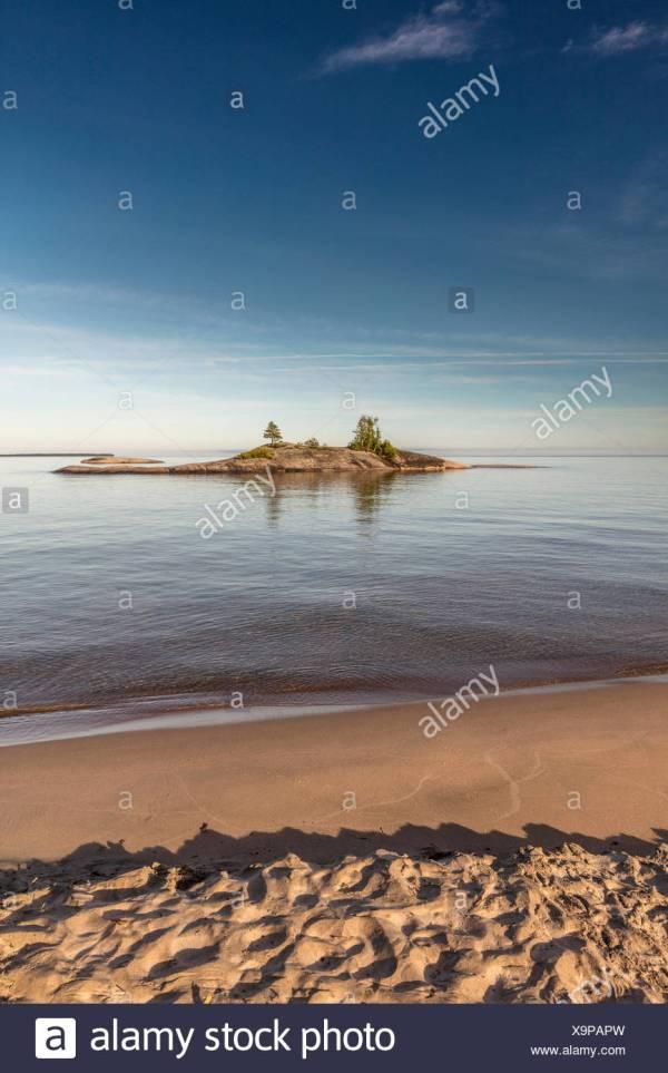 Rocky Island Lake Ontario Canada