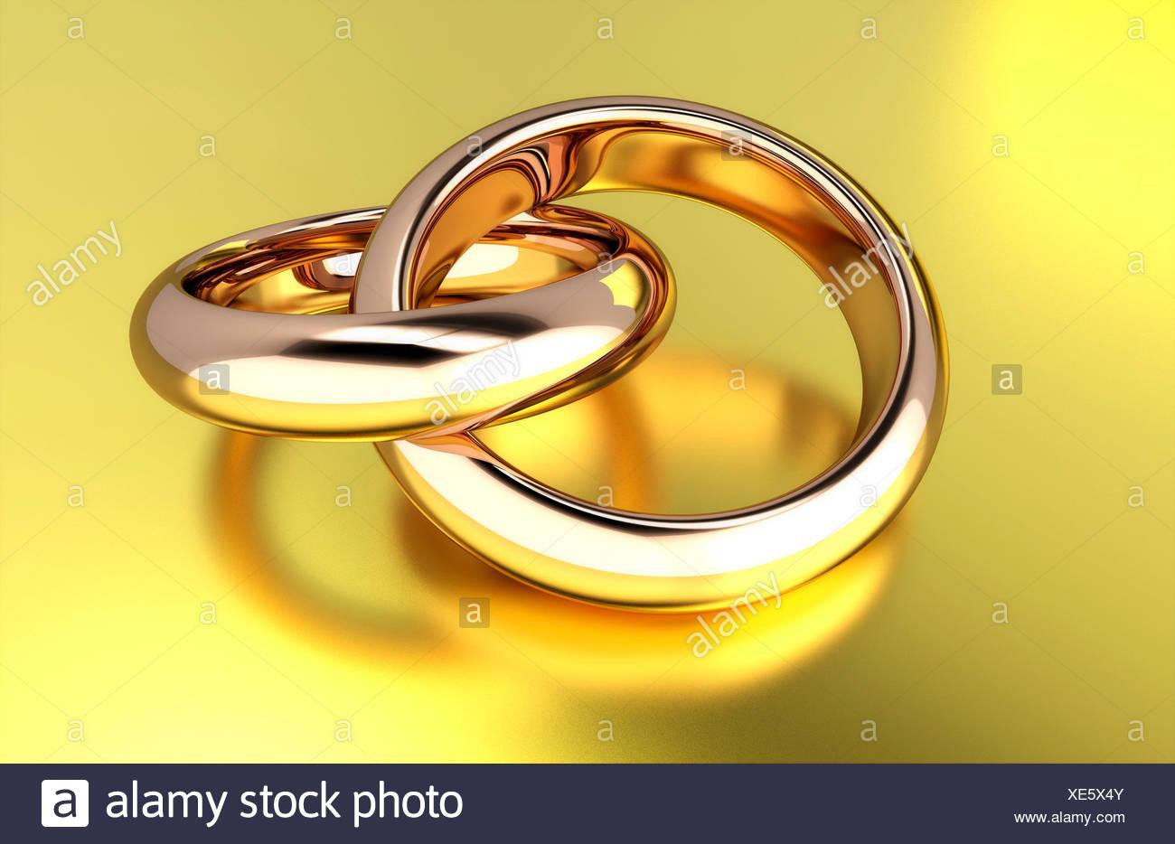 Hochzeitsringe Ineinander  Hochzeit