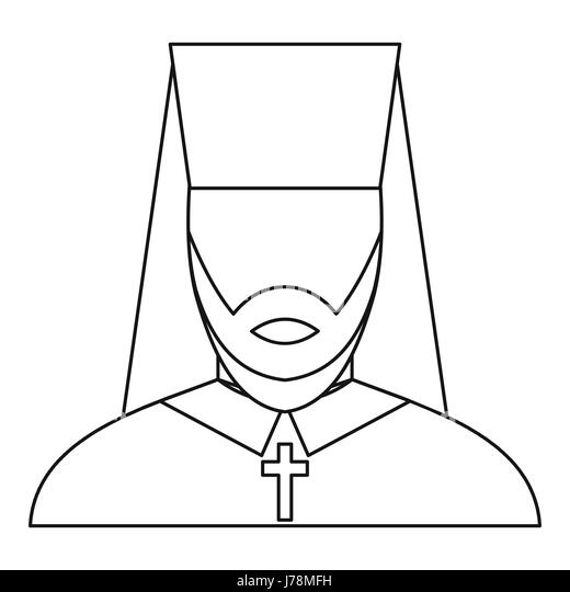 Clergyman Cross Bible Stock Photos & Clergyman Cross Bible