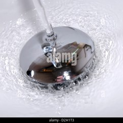 Kitchen Sink Plug Hole Fitting Fabric For Chairs Stock Photos & Images - Alamy