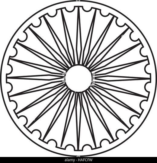 Vector Simple Mandala Vector Illustration