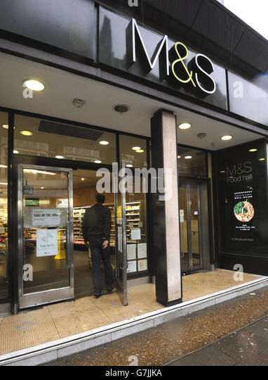 Marks And Spencer Delivery Stock Photos Amp Marks And