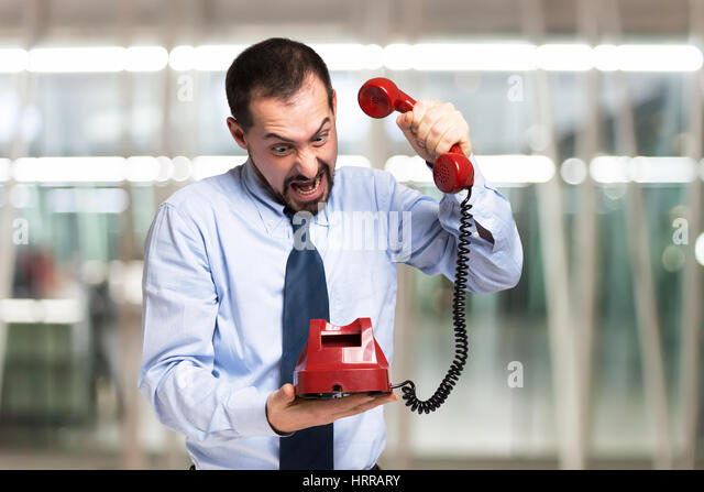 Image result for photo of someone slamming the phone down