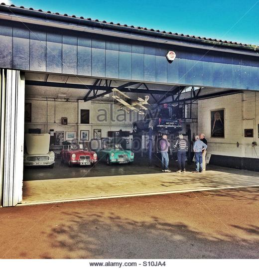 Classic Car Garage Stock Photos  Classic Car Garage Stock