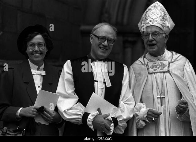 Image result for bishop George Carey's wife, Eileen