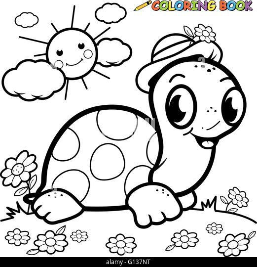 Sheep Eating Grass Coloring Page