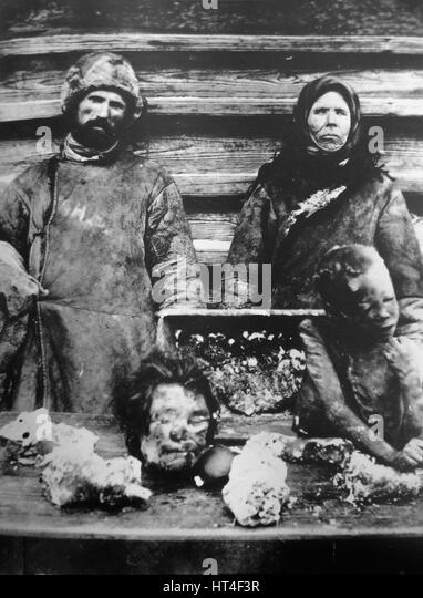 Cannibalism During Russian Famine 1921