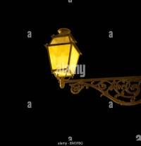 Street Lamp Night Stock Photos & Street Lamp Night Stock ...