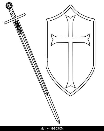 Knights Templar Cross Stock Photos & Knights Templar Cross