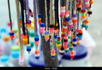 Braids Beads Hair Stock Photos & Braids Beads Hair Stock ...