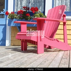 Oversized Moon Chair Canada Painted Kids Table And Chairs Adirondack Garden Stock Photos & Images - Alamy