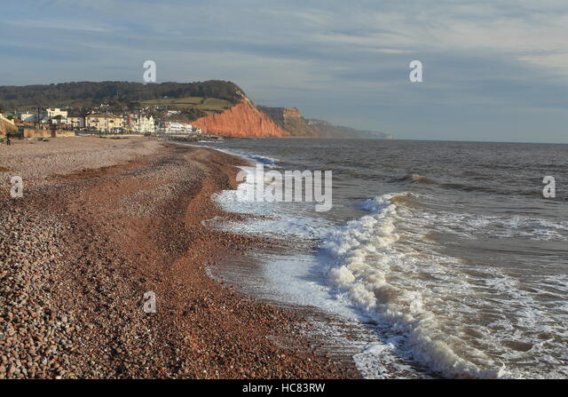 west marine chairs accent with wood arms sidmouth devon seafront stock photos & images - alamy