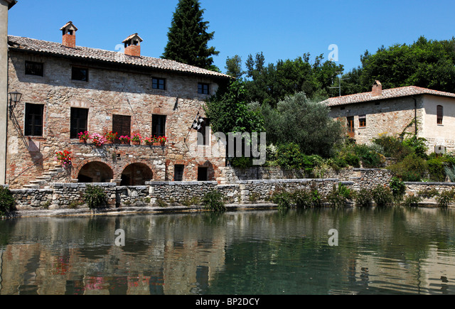 Bagno Vignoni Stock Photos  Bagno Vignoni Stock Images  Alamy