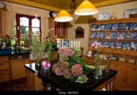 Country House Kitchen Stock Photos & Country House Kitchen ...