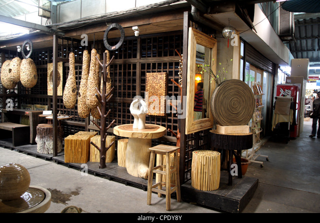 Furniture Decoration Shop In Chatuchak Stock Photos & Furniture
