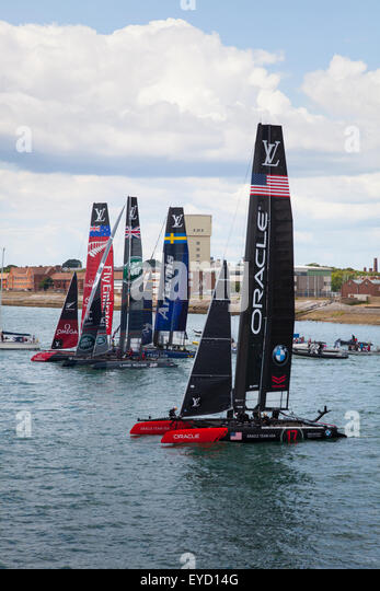 Admirals Cup Yachts Stock Photos Amp Admirals Cup Yachts