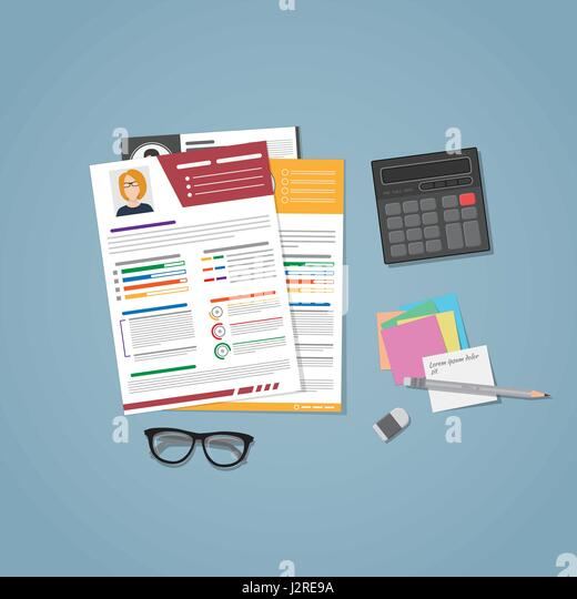 Resume Cv Template Employment Stock Photos Resume Cv Template Cvs Resume  Paper  Cvs Resume Paper
