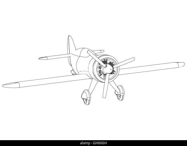 Jet Engine Drawing Stock Photos & Jet Engine Drawing Stock