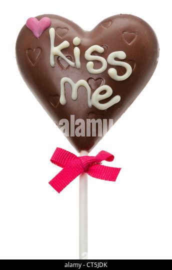 Kiss Me Candy Heart Stock Photos Amp Kiss Me Candy Heart