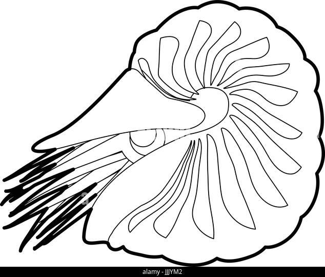 Vector Illustration Zentangle Underwater World Doodle Sea