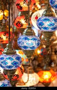 Turkish Glass Lanterns Stock Photos & Turkish Glass ...