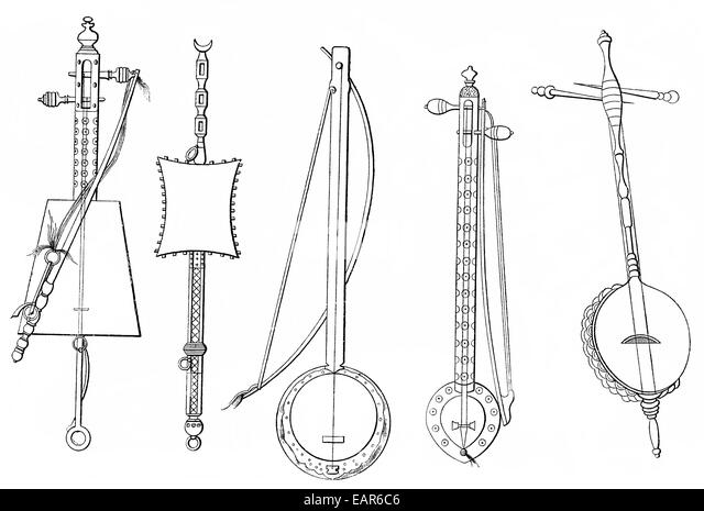 Ancient Stringed Instrument Stock Photos & Ancient