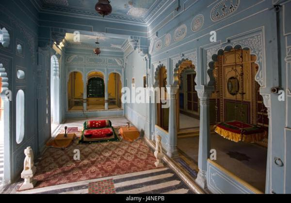 indian palace bedroom Palace Bedroom Stock Photos & Palace Bedroom Stock Images