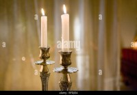 Shabbat Candles Stock Photos & Shabbat Candles Stock ...