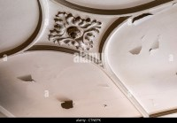 Peeling Paint Ceiling Stock Photos & Peeling Paint Ceiling