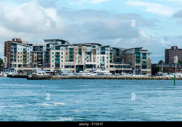 Apartments Poole Quay Uk Stock Photos Amp Apartments Poole