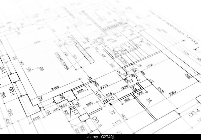 3d Residential Building Site Stock Photo