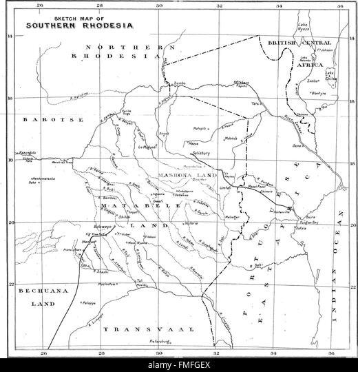 Old Map Salisbury Stock Photos & Old Map Salisbury Stock