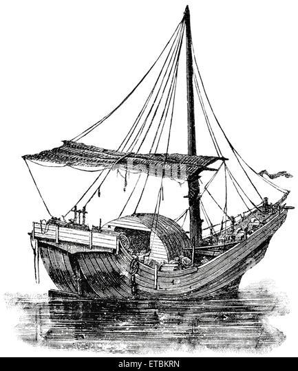 1800s Sailing Ship Stock Photos & 1800s Sailing Ship Stock