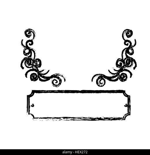 Sign Border Vector Stock Photos & Sign Border Vector Stock