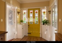 Hallway Front Door Home Stock Photos & Hallway Front Door ...