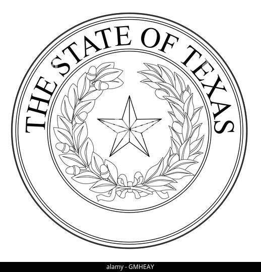 State Seal Of Texas Stock Photos & State Seal Of Texas