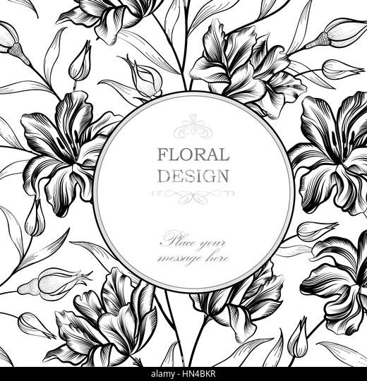Colorful Flower Print On White Background Seamless Vector