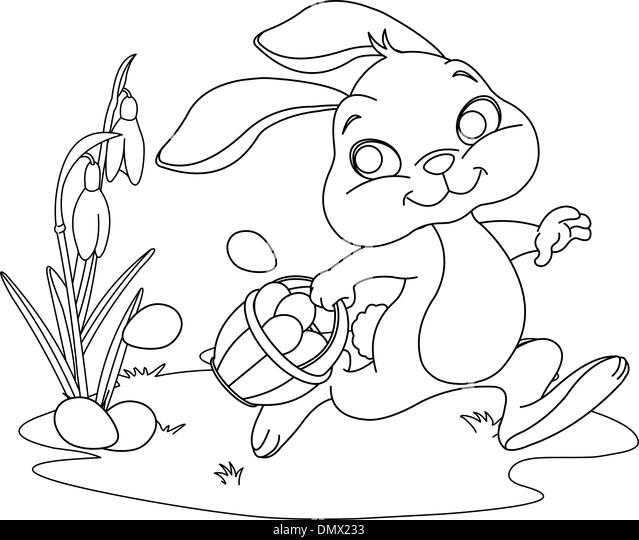 Easter Bonnet Colouring Pages Page 2 Sketch Coloring Page