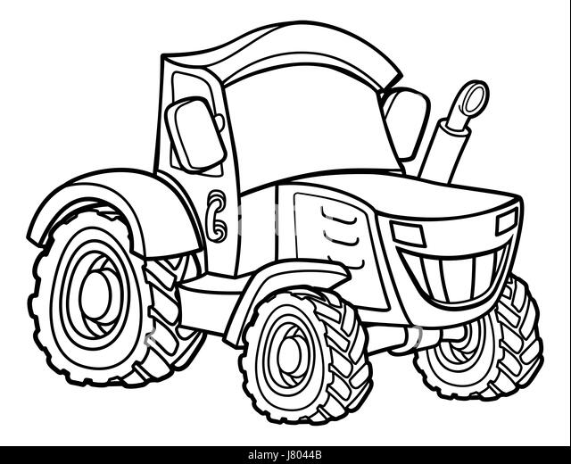 Combine Harvester Black and White Stock Photos & Images