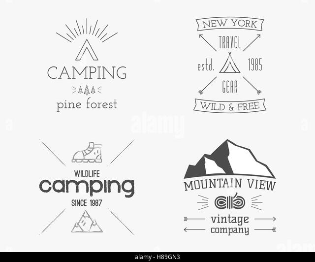 Summer Camp Children Black and White Stock Photos & Images